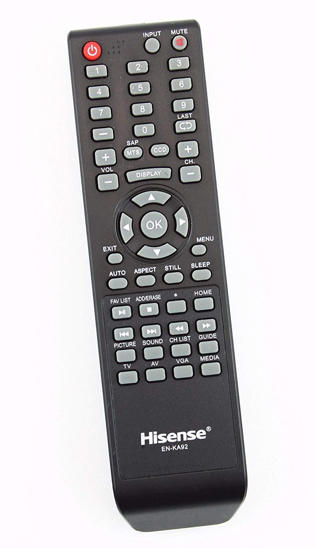 Control Remoto Original Hisense EN KA92 LCD TV Supplied c...