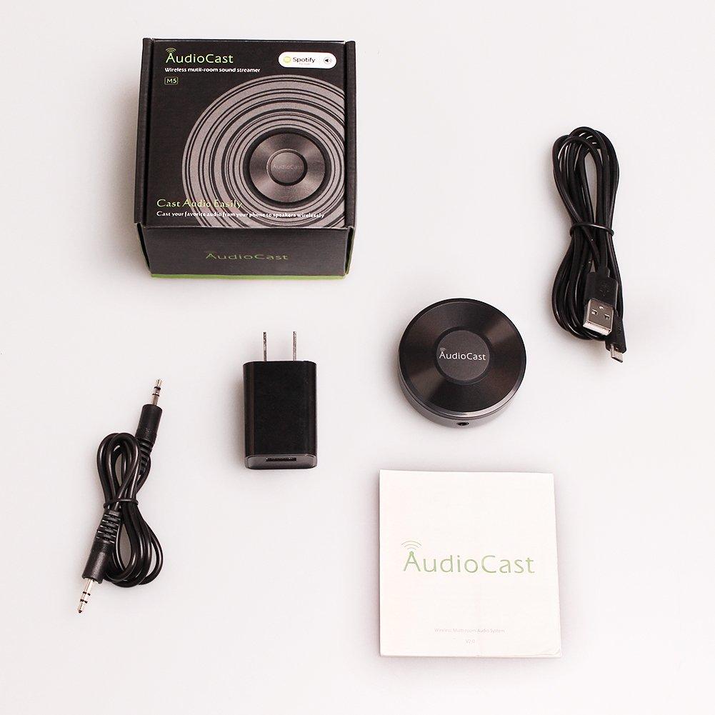 Amazon com: ANEWKODI Wifi Audio Receiver Adapter Audiocast
