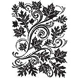 Darice Embossing Folder 4.25-Inchx5.75-Inch-Fall Leaf Background