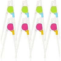Kids Training Chopsticks, 8 Pairs Children Learning Chopstick Helper Learning Chopstick Set for Chopstick Beginners…