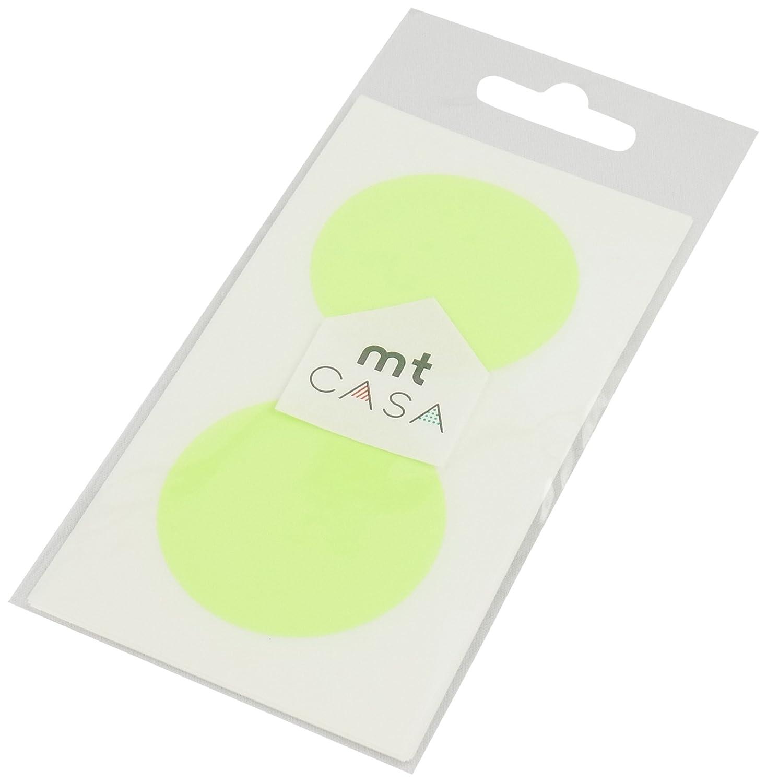 MT Casa Seal Stickers - Shocking Green (Pack of 10) Kamoi Kakoshi MTCDS001Z