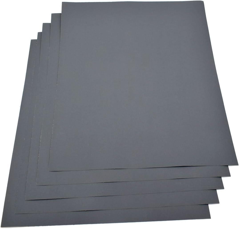 Silverline 712247 10 feuilles abrasives pon/çage sec ou humide Grain 120