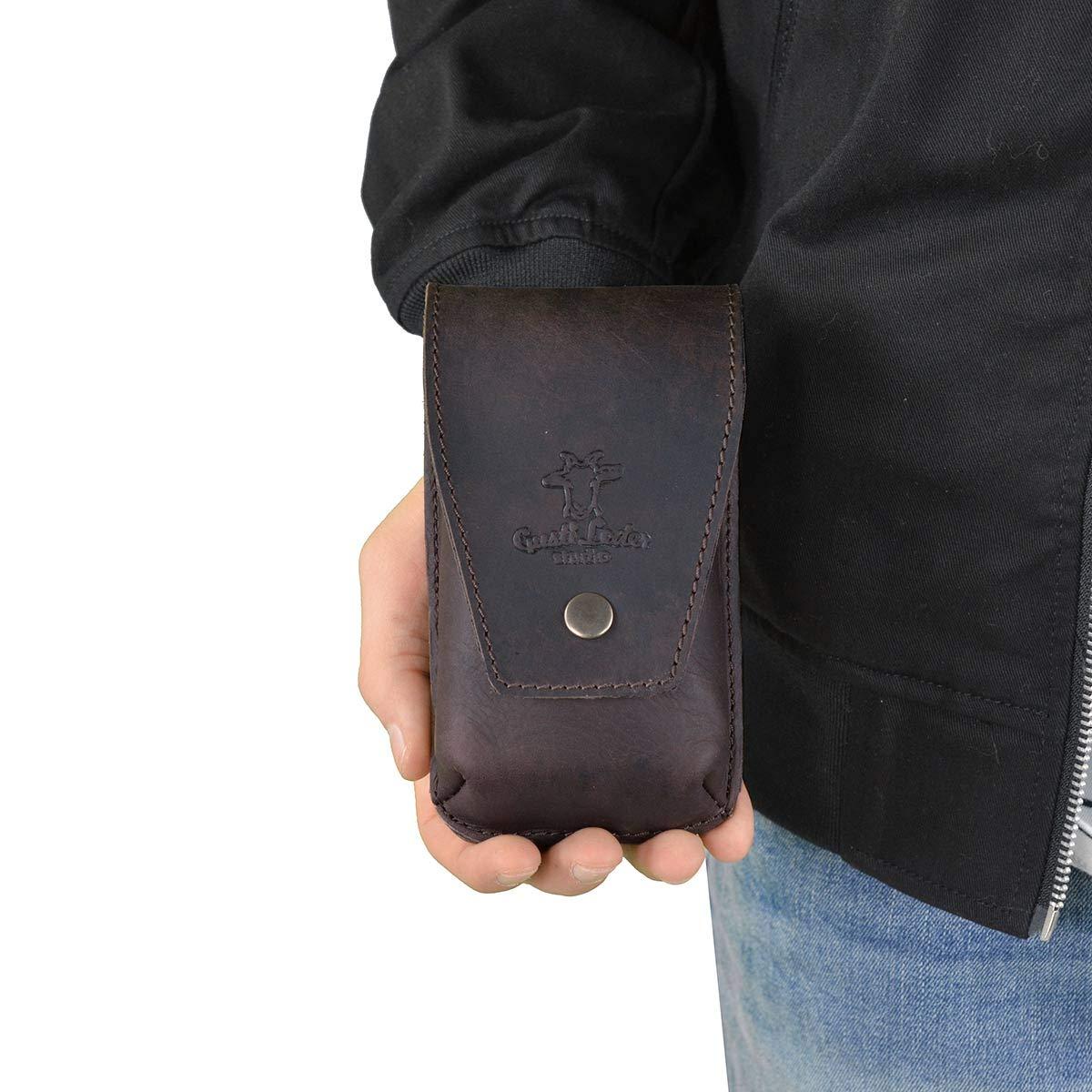 Gusti Pelle Tasca Portapenne Astuccio Portamatite Organizer 2S12