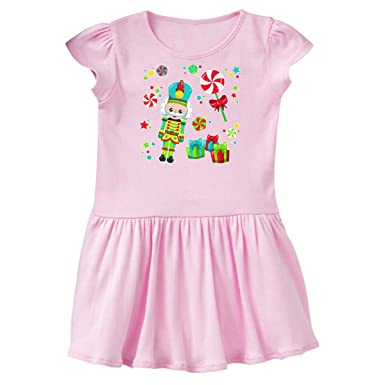 a43355dfd inktastic - Holiday Nutcracker and Candy Toddler Dress 2T Ballerina Pink  2dcc5