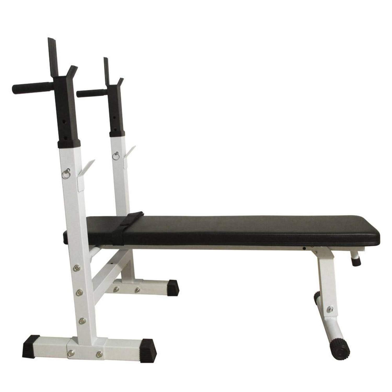 SHUTAO Fitness Weight Bench White & Black