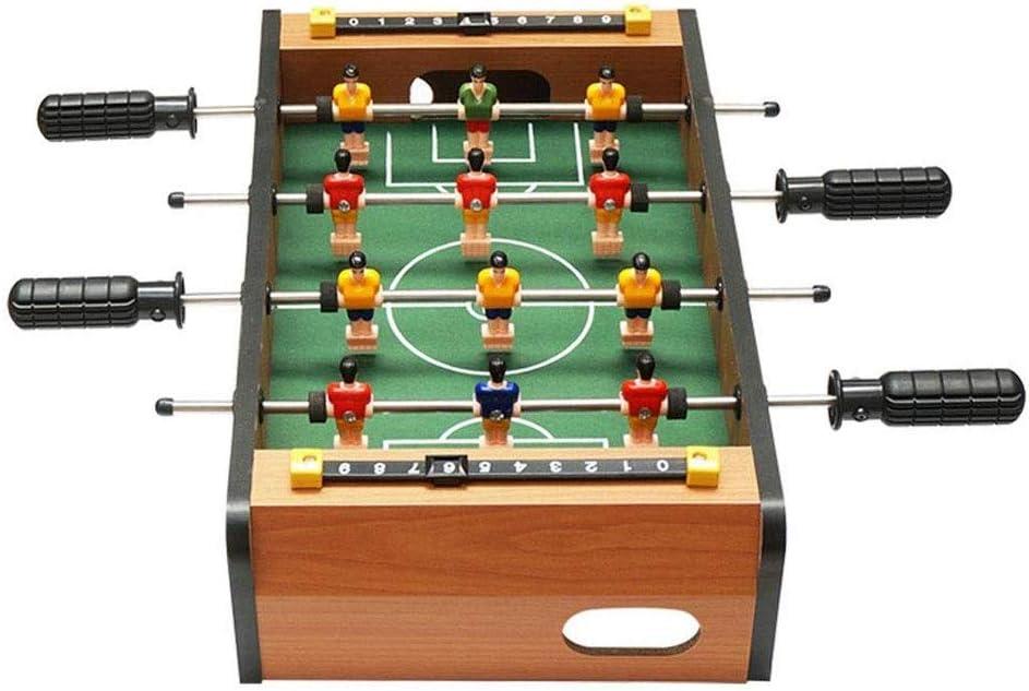 SPPO Mini Tabla Partido de fútbol, fútbol de futbolín Juego Set ...