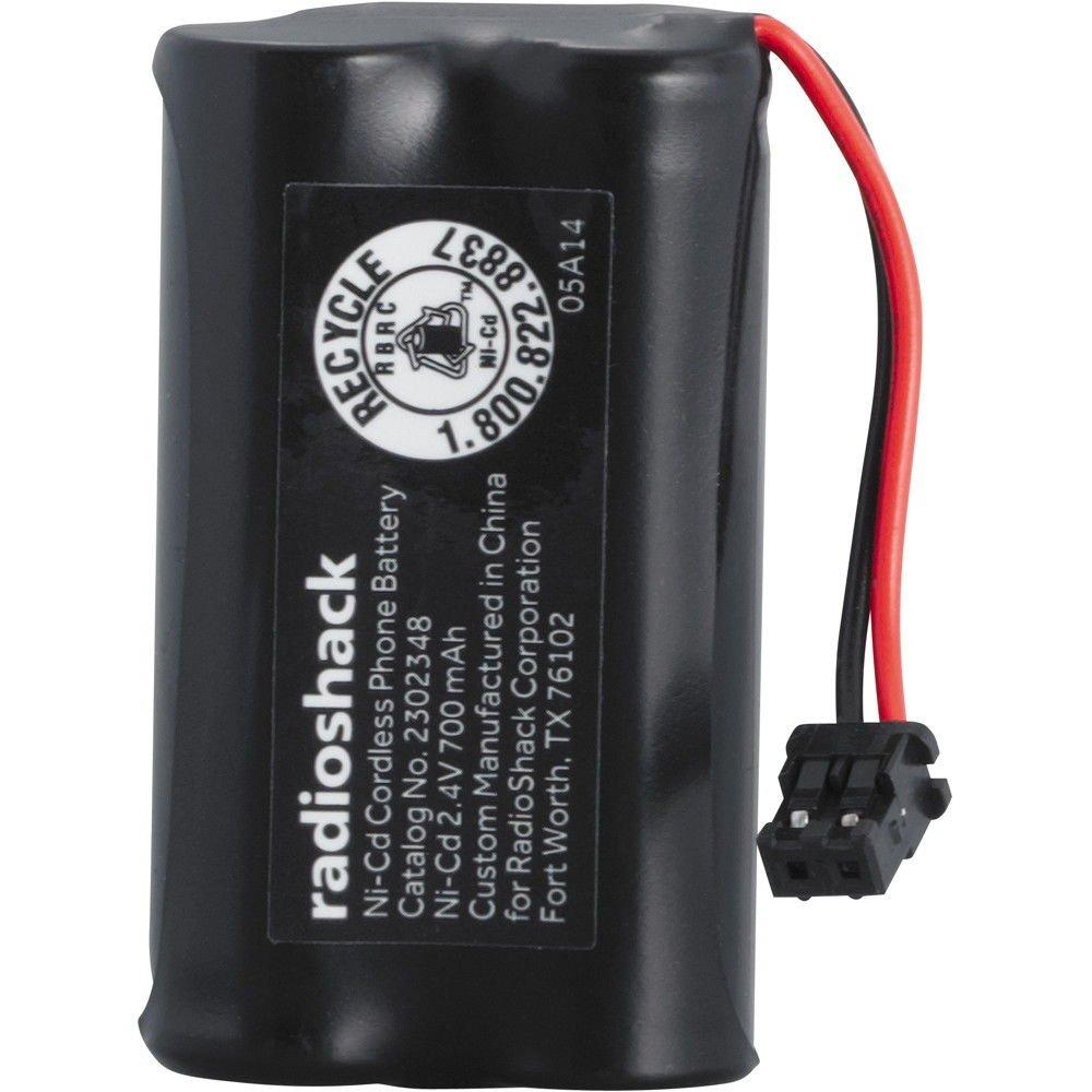 RadioShack 2.4V/700mAh Ni-Cd Cordless Phone Battery