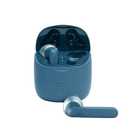 JBL Tune 225TWS True Wireless in-Ear Headphones with 25 Hours Playtime, Dual Connect, Bluetooth 5.0 (Blue) (JBLT225TWSBLU)
