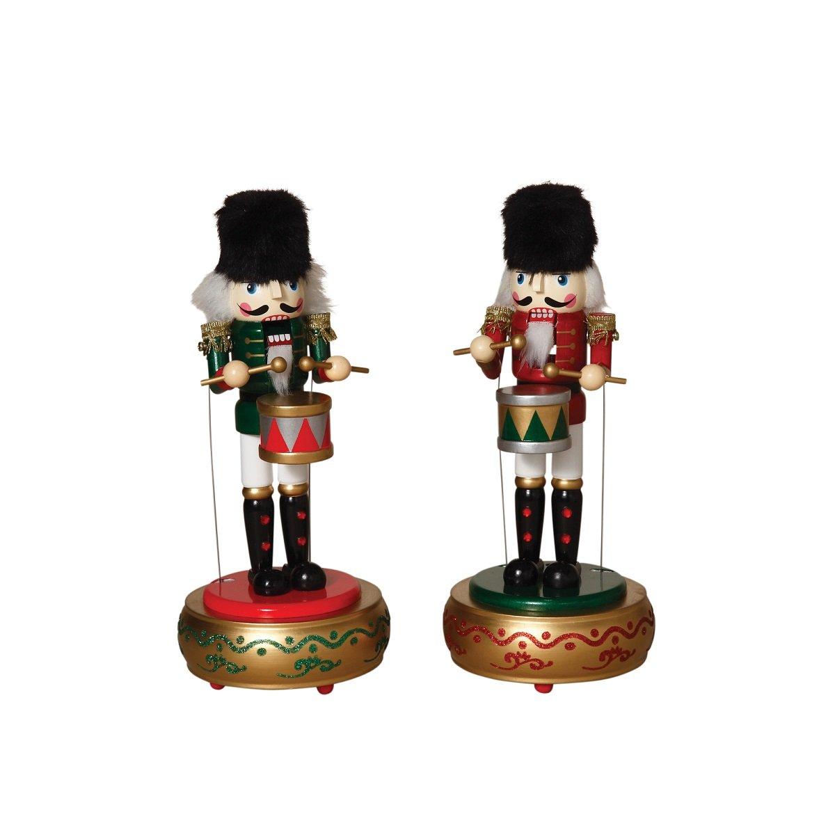 絶妙なデザイン ワインドアップMusical Moving NutcrackersクリスマスCollectible Figurines Figurines B018NBTAR6 Decorセット Decorセット B018NBTAR6, 激安/新作:68fe93ad --- arcego.dominiotemporario.com