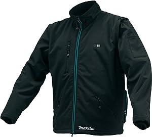 Makita CJ102DZXL CJ102DZXL12V Max CXT Lithium-Ion Cordless Heated Jacket, Only (Black, XL),