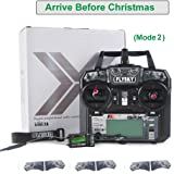 Flysky FS-i6X 2.4GHz 10CH Upgrade Flysky i6 AFHDS 2A RC Transmitter TX with iA6B Receiver and Crazepony Strap