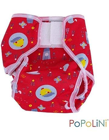 65737f86dee0bb Popolini Überhose PopoWrap Birdy Red Windelüberhose (XL +14kg)