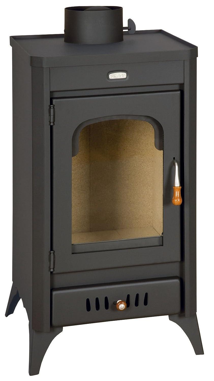 Estufa de leña chimenea Multi Fuel Log quemador de cerámica cristal 11 kW Prity Sr: Amazon.es: Bricolaje y herramientas