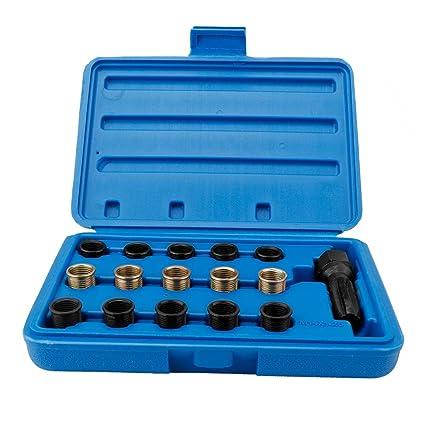 Kit de reparación de bujías, 16 piezas Kit de herramientas de ...