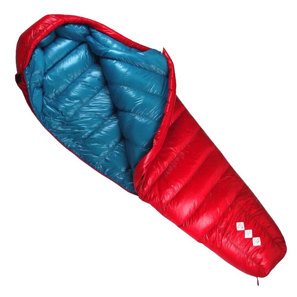 Outdoor Bergsteigen Wandern Erwachsener Jugend Kaltes Wetter Ultra Light 90% Duck Down - Daunenschlafsack