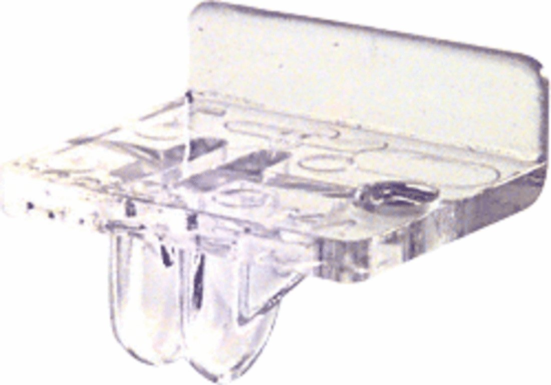 CRL Clear Acrylic Left Hand Front Rest KV10312PLH