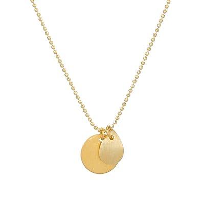 Halskette gold 80 cm