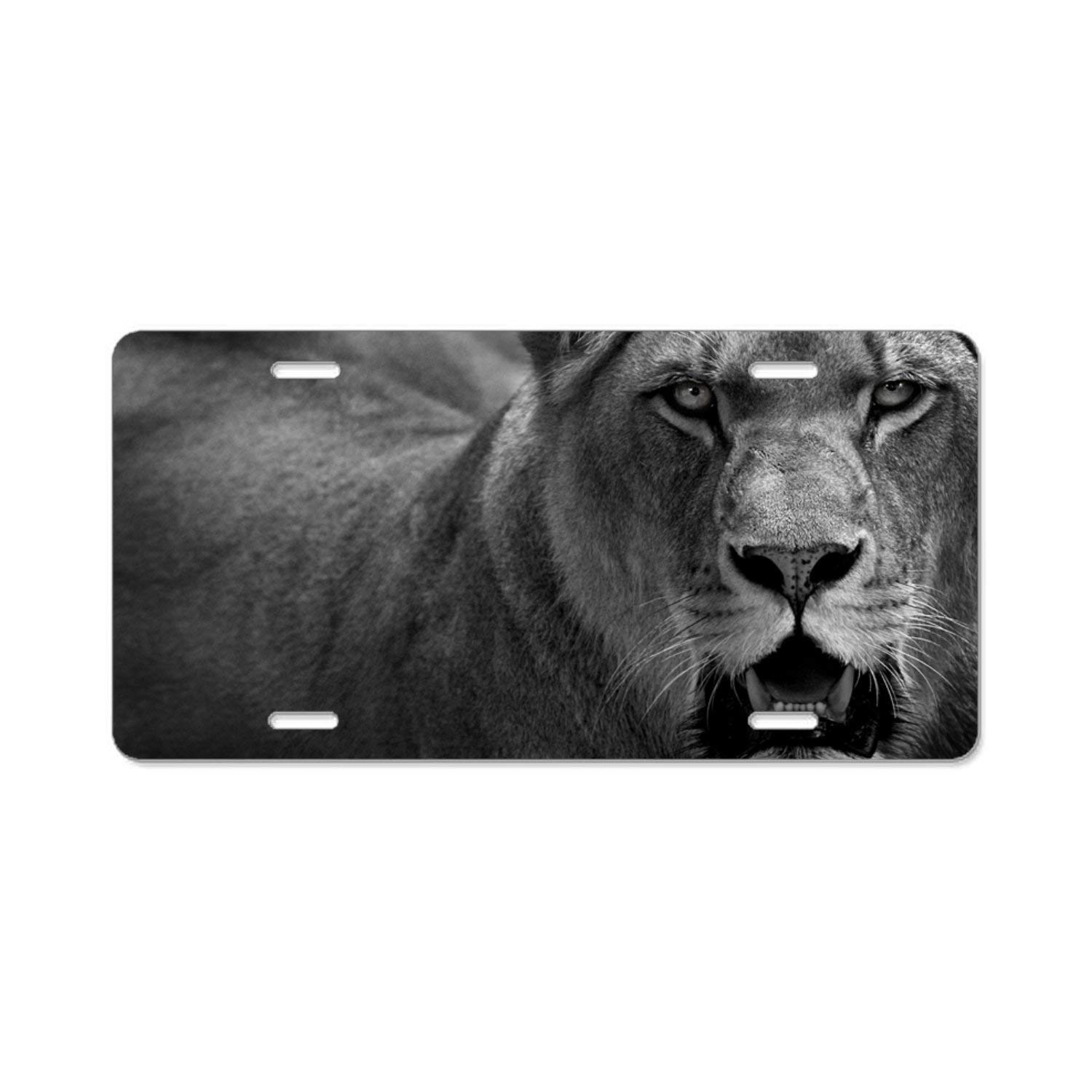 License Plate Covers & Frames Exterior Accessories Animal Cats Car License Plate Cover Framed Tag Cover Durable Aluminum License Plate Frame for Women