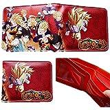 Dragon Ball Z Anime Superhero Collection Character Leather Look Bi-Fold Wallet