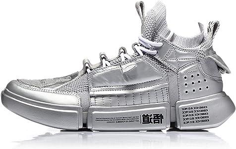 LI-NING PFW AGBN062 - Zapatillas deportivas para mujer, Plateado (Plateado), 38 EU: Amazon.es: Zapatos y complementos