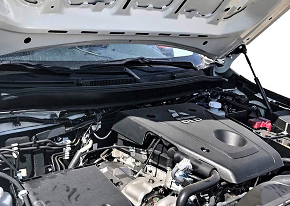 Motorhaubend/ämpfer und Haubenlift mit Gasfeder passend f/ür FIAT Fullback ab Baujahr 2015