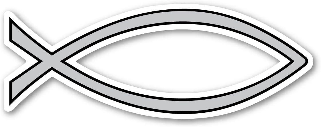 Silver Plain Fish Magnet