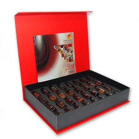 Caja de aromas 32 Virtudes del Vino: Amazon.es: Hogar