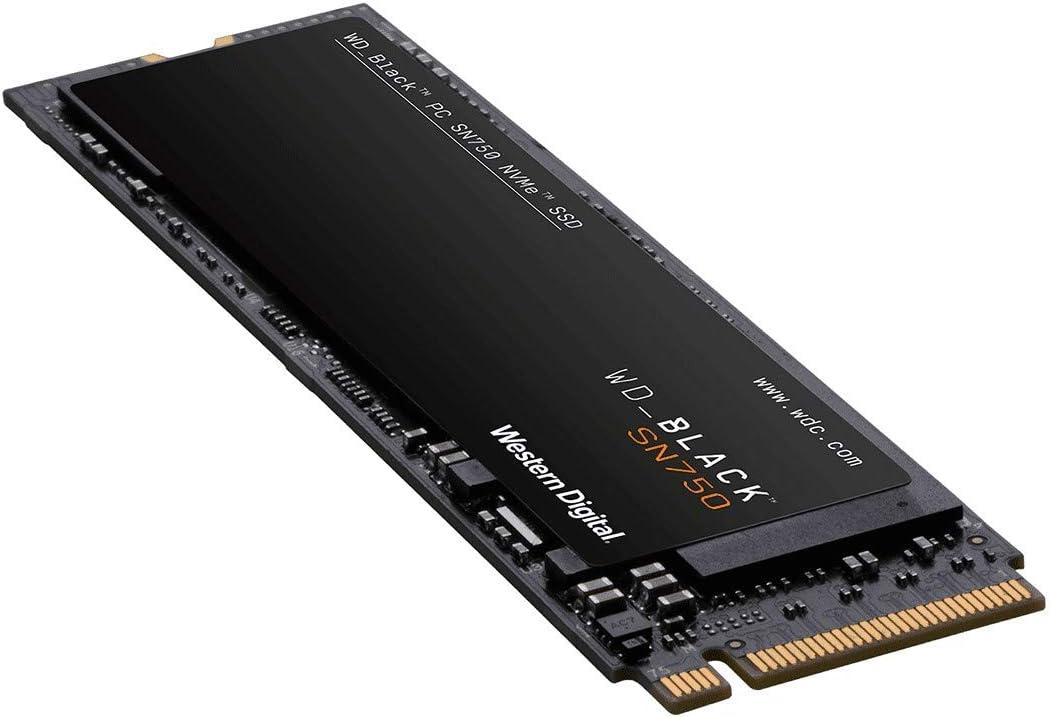 Western Digital Black SSD 500GB SN750 NVMe WDBRPG5000ANC-WRSN ...