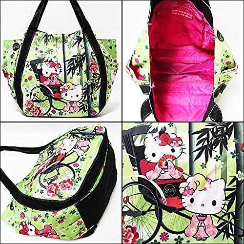 Sac /à Main Sac fourre-Tout pour Les Filles Import Japon Bamboo Forest 4001 Mod/èles Japonais 30x49x22cm Sanrio Hello Kitty