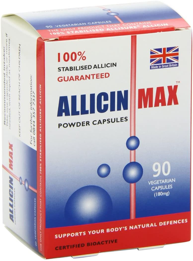 2 Pack – Allicin Max – Allicin Max 90 s 2 PACK BUNDLE