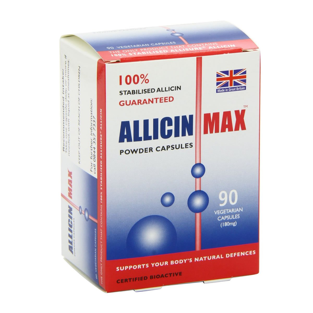 (3 PACK) - Allicin Max - Allicin Max | 90's | 3 PACK BUNDLE