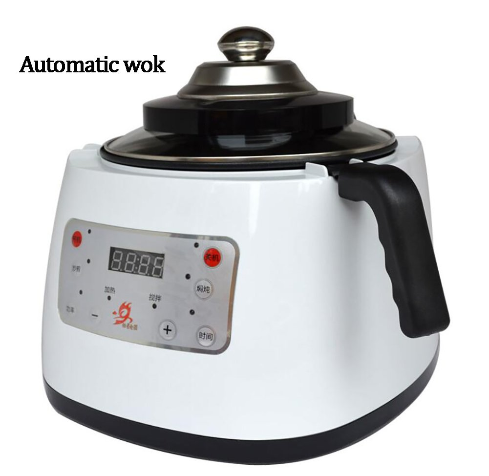 SHANGXIAN Electric Automatic Wok Cooking Pot Multi Cooking Frying Pan Smoke-Free Household All Intelligent Food Cooking Machine
