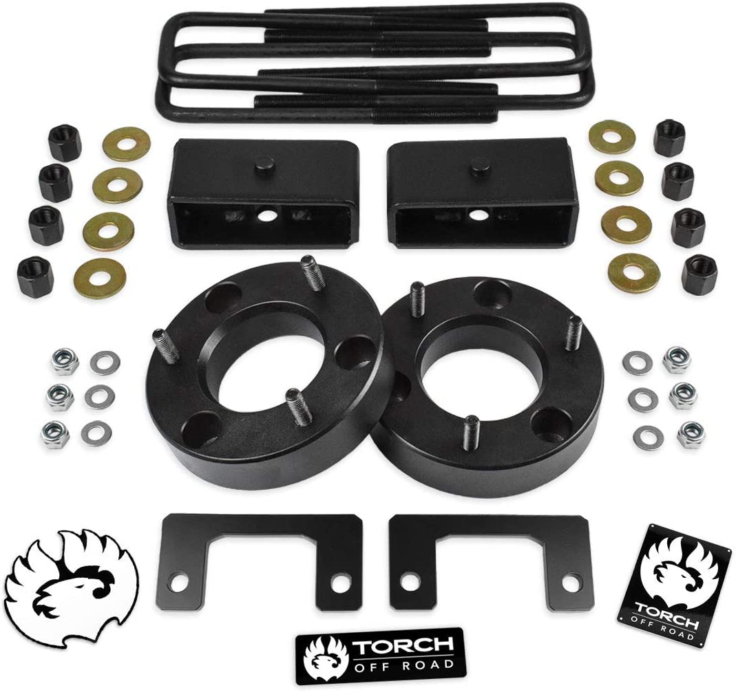 TORCH 3 Front 2 Rear Leveling Lift Kit For 2007-2019 GMC Sierra Chevy Silverado 1500