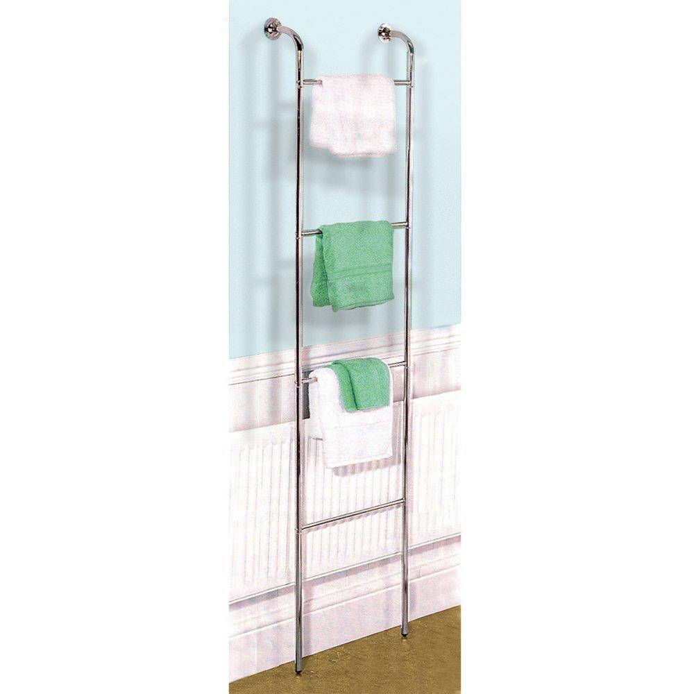 SCALA - Porta 4 Asciugamani Cromati da appendere alla parete ...