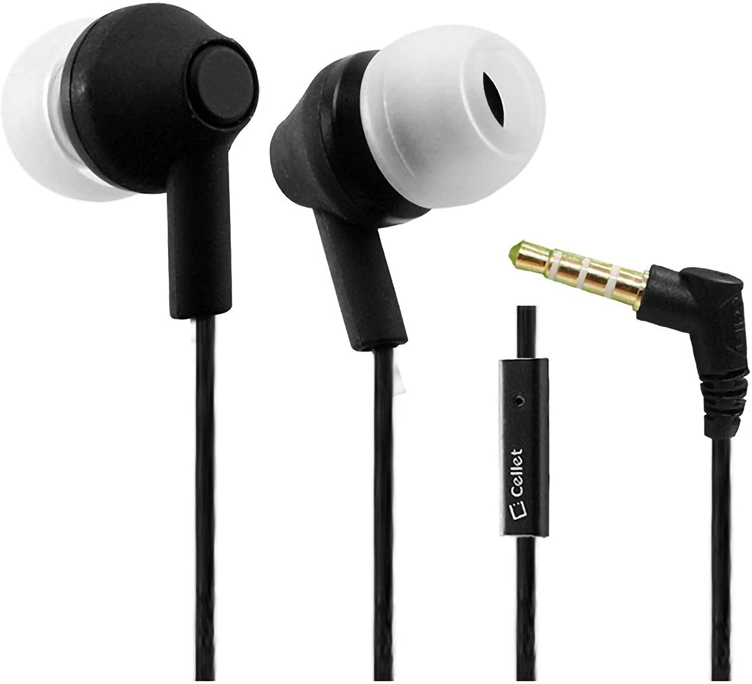 PRO Earbuds Works for Apple iPod Nano 7th Generation Encore+ Hands-Free Built-in Microphone and Crisp Digitally Clear Audio! (3.5mm, 1/8, 3.5ft)