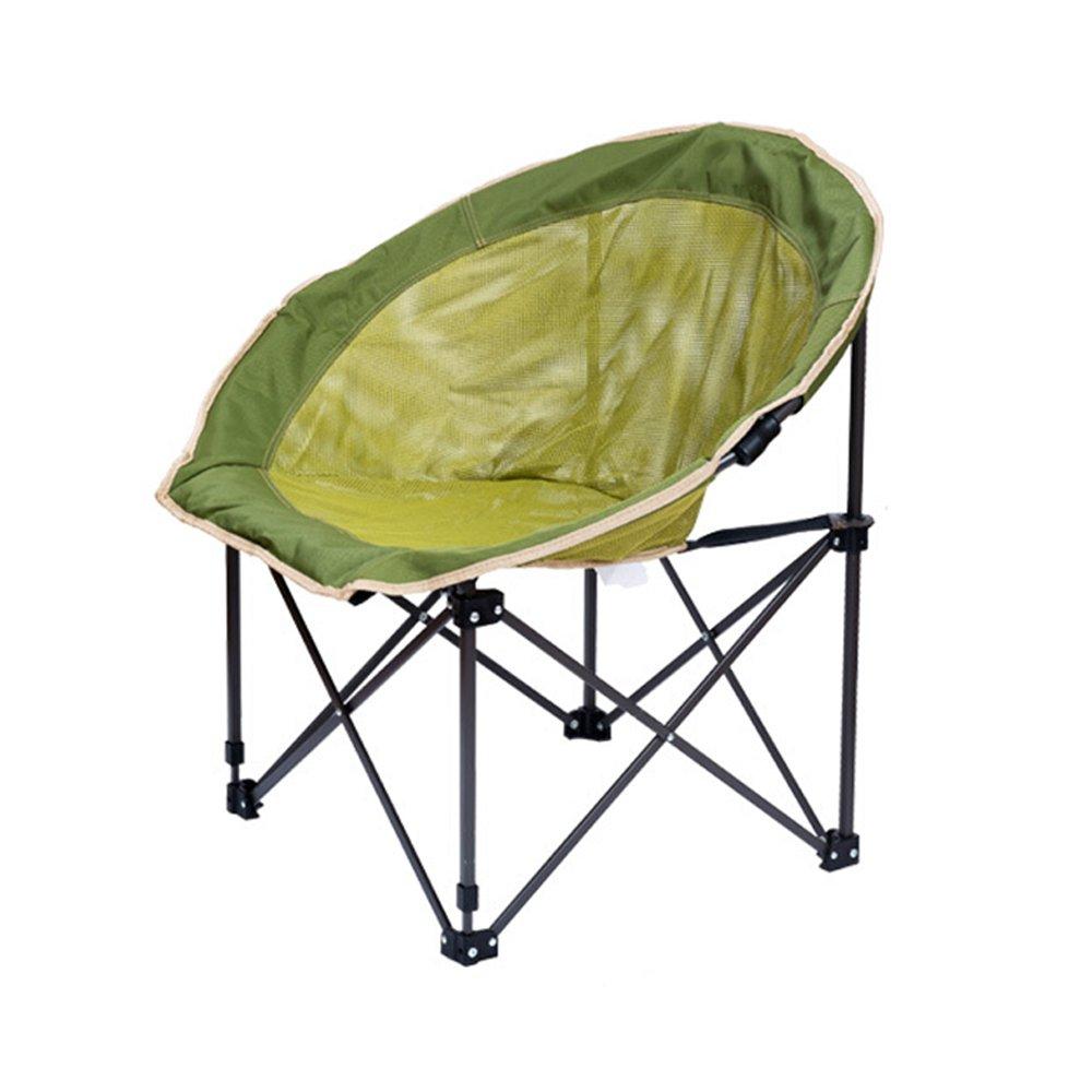 Campingstuhl Klappstuhl Outdoor Casual Balkon Komfortable Net Garn Mond Stuhl Haushalt Lazy Chair
