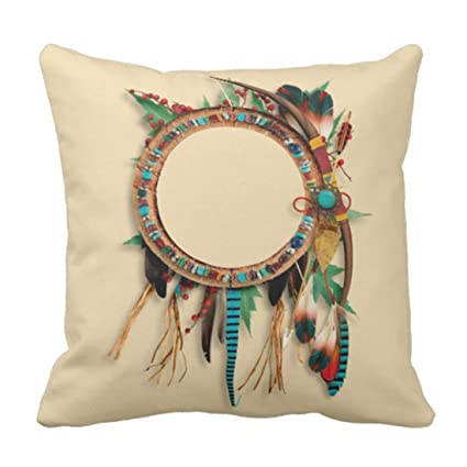 Amazon Emvency Throw Pillow Cover Brown Western Southwest Amazing Western Decorative Pillows