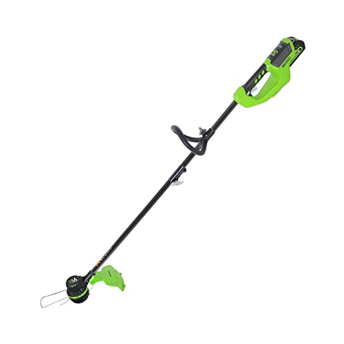 Greenworks 14-Inch 40V Brushless Cordless String Trimmer, Battery Not Included ST40L00