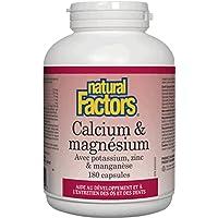 Natural Factors Calcium & Magnesium, 90 Capsules