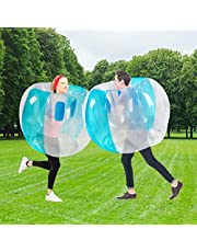 SUNSHINEMALL 1 PC Bumper Balls, Inflatable Body Bubble Ball Sumo Bumper Bopper Toys, Heavy Duty Durable PVC Vinyl Kids Adults Physical Outdoor Active Play (36inch, zjq