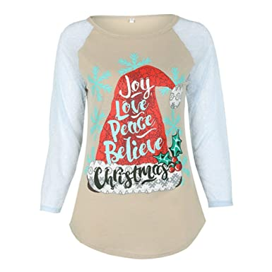 995f23a539 Juleya Christmas Family Matching Tops Father Mother Children Long Sleeve  Shirt Pajamas Clothing  Amazon.co.uk  Clothing