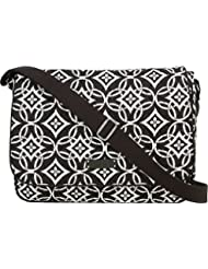 Vera Bradley Womens Laptop Messenger Concerto Messenger Bag