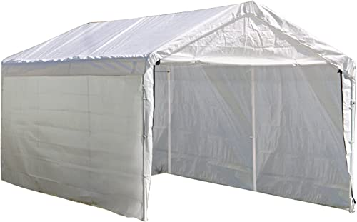 ShelterLogic MaxAP Canopy Enclosure Kit, 10 x 20 ft. Frame and Canopy Sold Separately