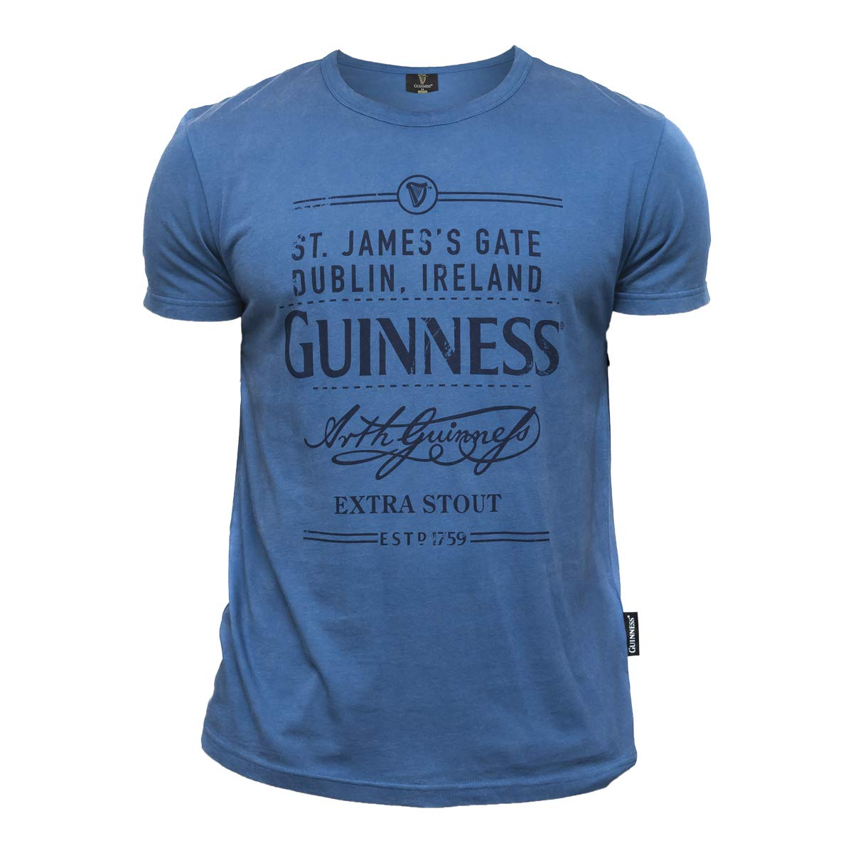 Amazon.com: Guinness St. Jamess Gate Dublin - Camiseta de ...