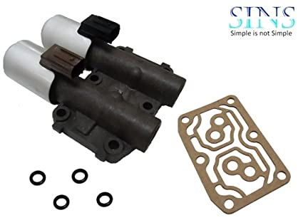 Amazon.com: SINS - CR-V Accord Element RSX TSX Transmission AT Clutch Pressure Control Solenoid Valve B and C 28260-PRP-014 - Plastic Valve Body: Automotive