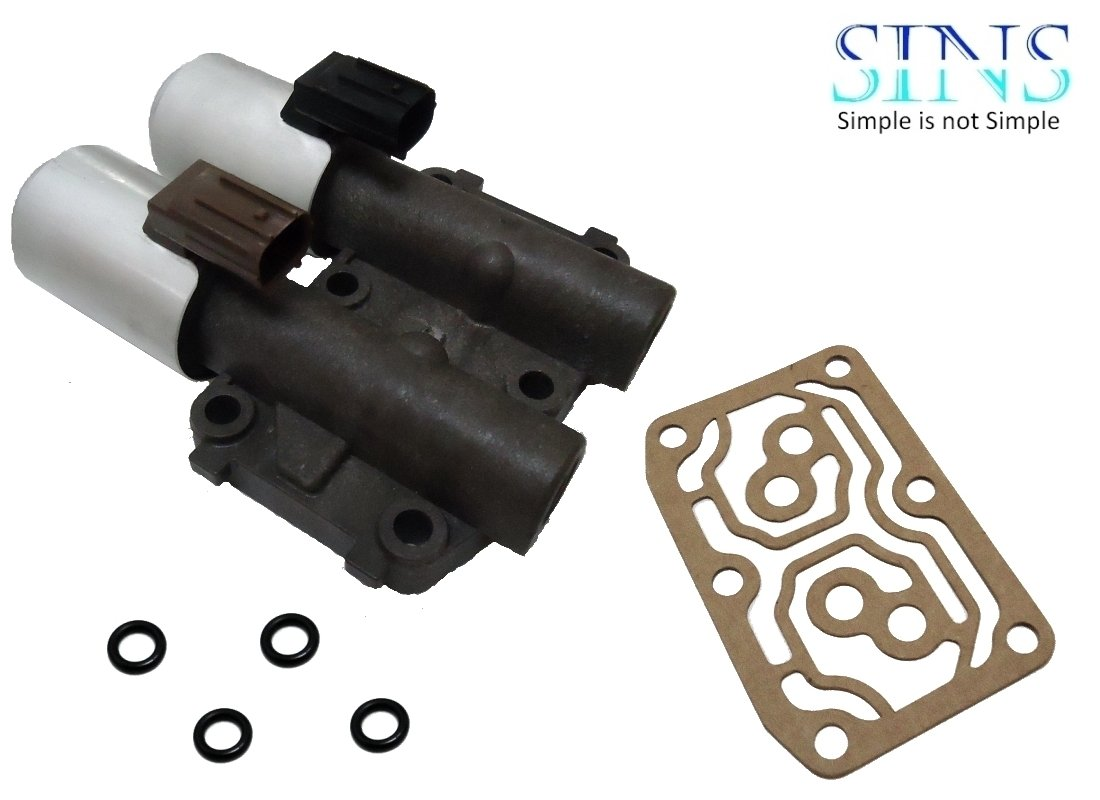 SINS - CR-V Accord Element RSX TSX Transmission AT Clutch Pressure Control Solenoid Valve B and C 28260-PRP-014 - Plastic Valve Body