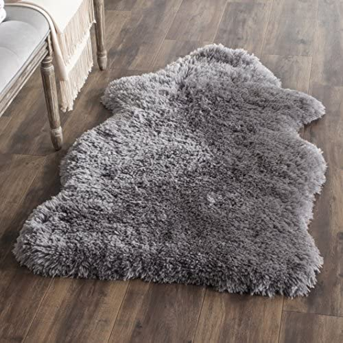 Safavieh Artic Shag Collection SG270G Handmade 3-inch Extra Thick Area Rug