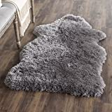Safavieh Arctic Shag Collection SG270G Handmade Grey Polyester Area Rug (2'6″ x 4′) Review