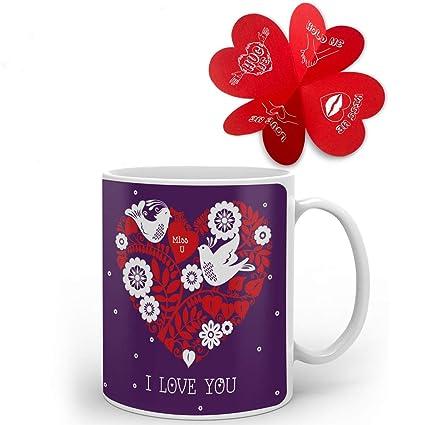 Buy Valentine Gifts For Boyfriend Girlfriend Love Printed Best