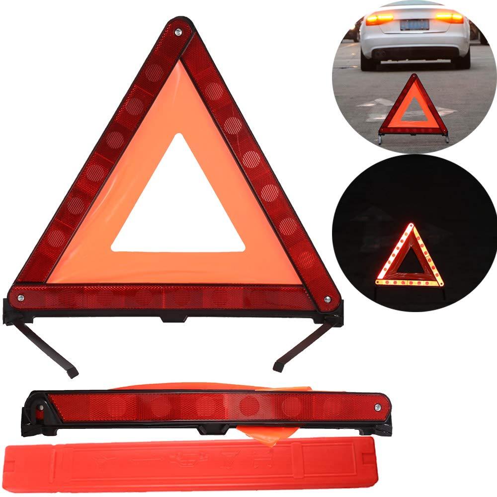 ALLOMN Warning Triangle, Emergency Road Warning Triangle